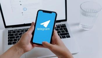 telegram acesso remoto